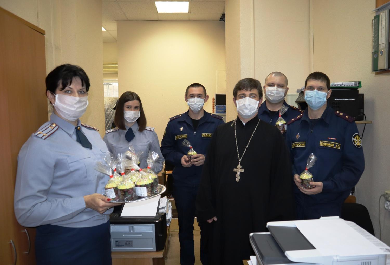 В учреждениях ГУФСИН России по Ростовской области встретили Светлое Христово Воскресение